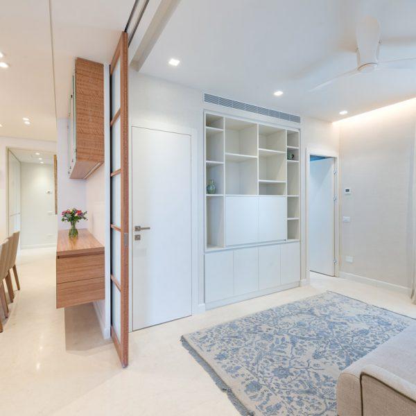 דירה חדשה בבקעה. מעצבת: שרון טורין