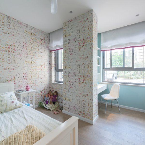 Garden Apartement in Baka. Design: Sharonne Turen
