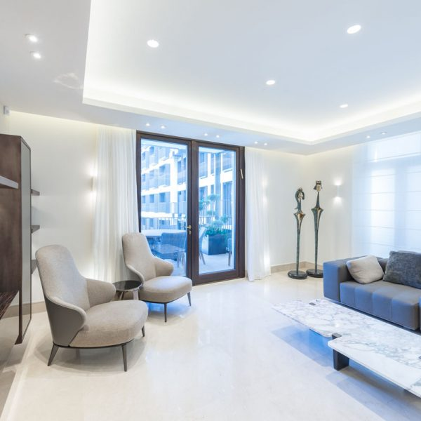 Apartement at the Orient Hotel. Design: Amy Cohn Architects