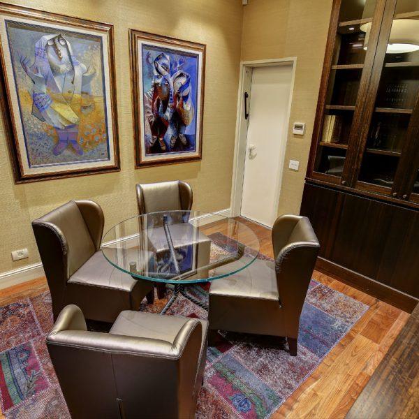 Duplex on Ben Maimon St. Design: Sharonne Turen