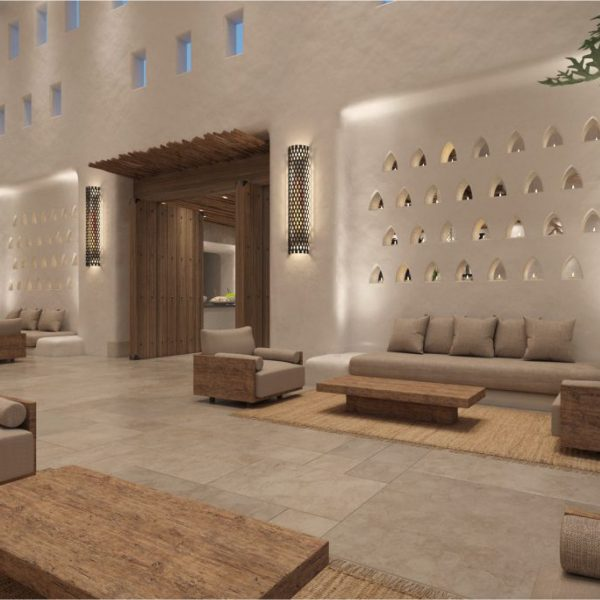 Isrotel Kedma Desert Hotel. All interiors over 164 rooms, SPA and public areas