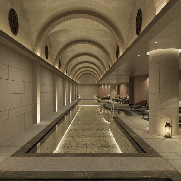 """ספא מלון וולדורף אסטוריה ירושלים. קבלן ראשי לבנית ספא חדש במלון בשטח 2000 מ""""ר"""